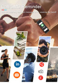 T9 Full Touch Screen Fitness Smart Bracelet – PINGKO - PINGKO