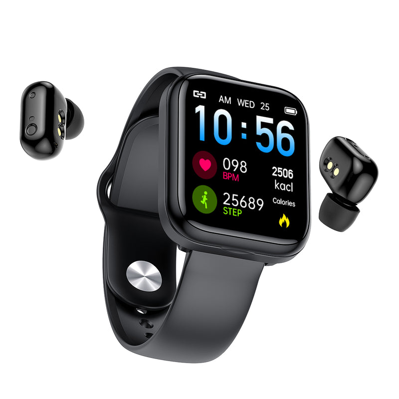 X5 2 in 1 Smart Watch with Headset-PINGKO
