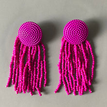 Load image into Gallery viewer, Trinity Beaded Earrings