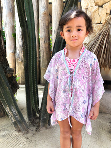 Aluna Kaftan in Pink (Kids)