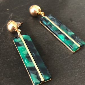 Gisela Resin Earrings