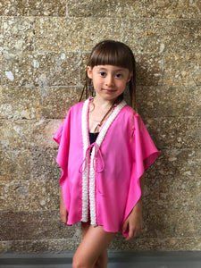 Sirena Kaftan in Bubble Gum (Kids)