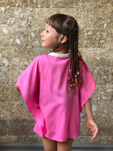 Load image into Gallery viewer, Sirena Kaftan in Bubble Gum (Kids)