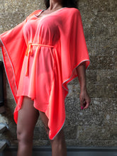 Load image into Gallery viewer, Lahela Belted Drawstring Kaftan