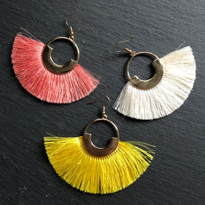 Tenea Tassel Earrings