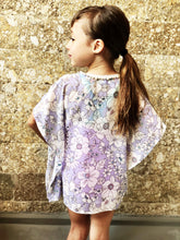 Load image into Gallery viewer, Leilani Kaftan in Thistle (Kids)