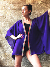 Load image into Gallery viewer, Zecca Kaftan in Violet