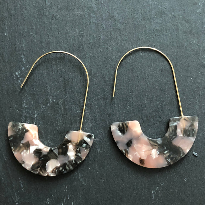 Jules Midi Resin Earrings