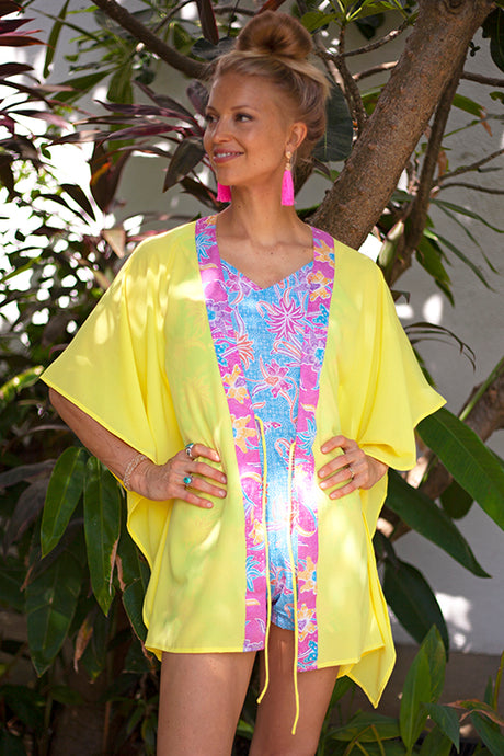 Lestari Kaftan in Citrus