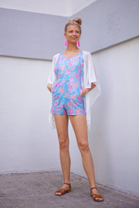 Utama Kaftan in White