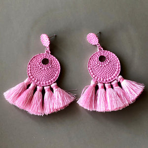 Saya Tassel Earrings