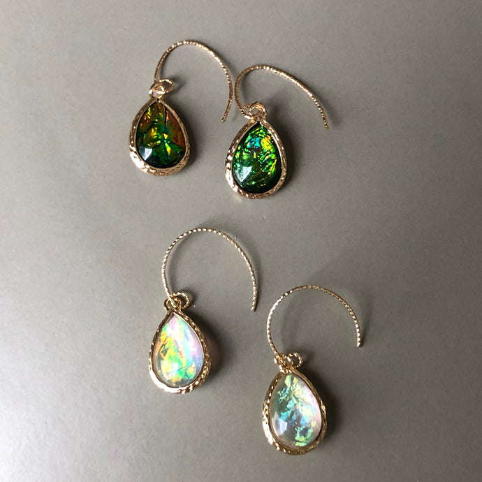 Luna Pearlescence Drop Earrings