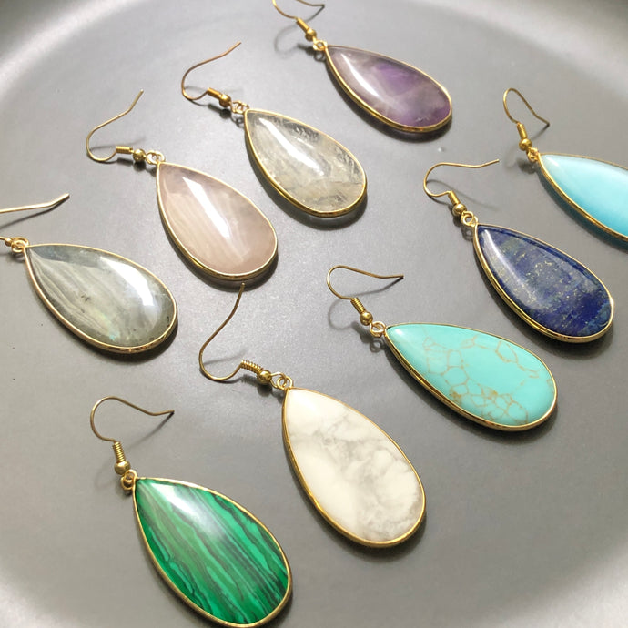 Damara Teardrop Earrings