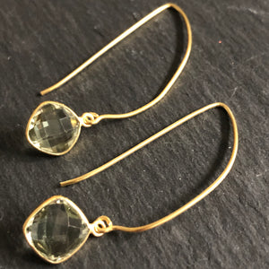 Lilis Gold-Plated Dangle Earrings