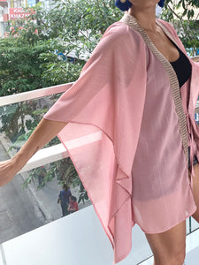 Katya Kaftan in Blush