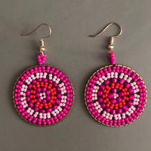 Load image into Gallery viewer, Rhea Beaded Earrings