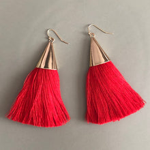 Load image into Gallery viewer, Cersei Tassel Earrings