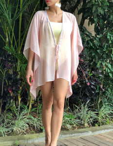 Neris Kaftan in Peach