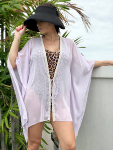 Leighrie Kaftan in Pale Lilac