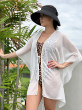 Load image into Gallery viewer, Ophelie Kaftan in White