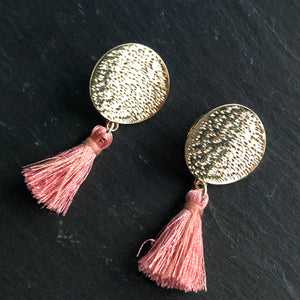 Mahana Mini Tassel Earrings