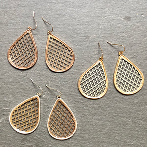 Roya Tear Drop Earrings