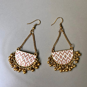 Krasi Gold Bells Earrings