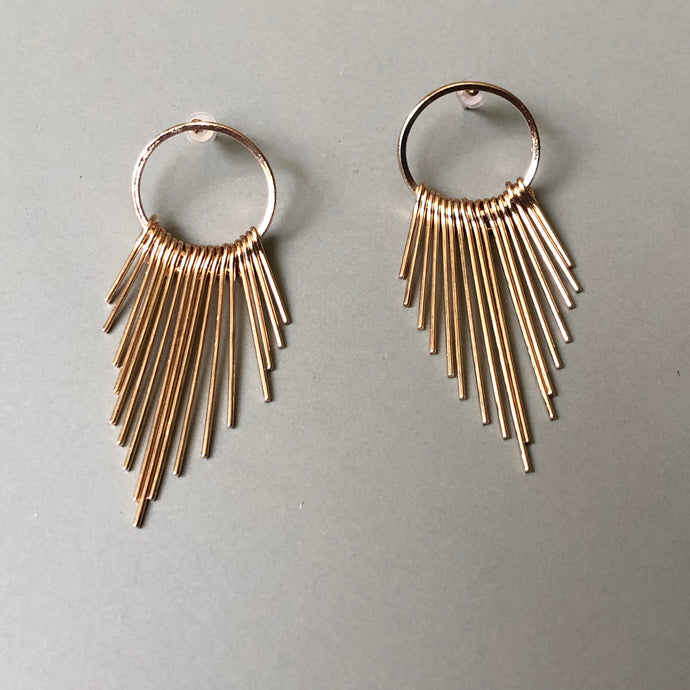 Roxanne Gold Earrings