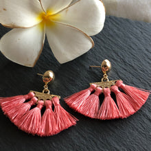Load image into Gallery viewer, Sieva Mini Tassel Earrings