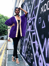 Load image into Gallery viewer, Neola Kaftan in Royal Purple