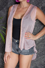 Load image into Gallery viewer, Paza Sleeveless Kimono in Blush