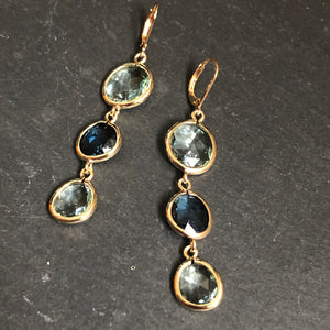 Inzia Crystal Dangle Earrings