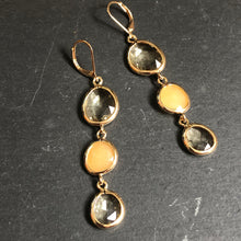 Load image into Gallery viewer, Inzia Crystal Dangle Earrings