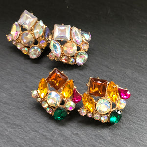 Callista Crystal Stud Earrings