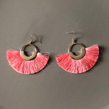 Load image into Gallery viewer, Tenea Tassel Earrings