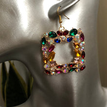 Load image into Gallery viewer, Callista Crystal Dangle Earrings