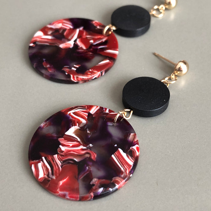 Jada Resin Dangle Earrings