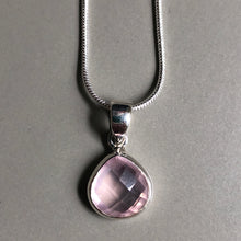 Load image into Gallery viewer, Myra Rose Quartz Necklace