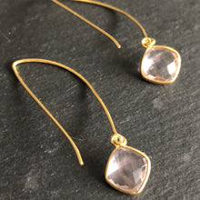 Load image into Gallery viewer, Lilis Gold-Plated Dangle Earrings