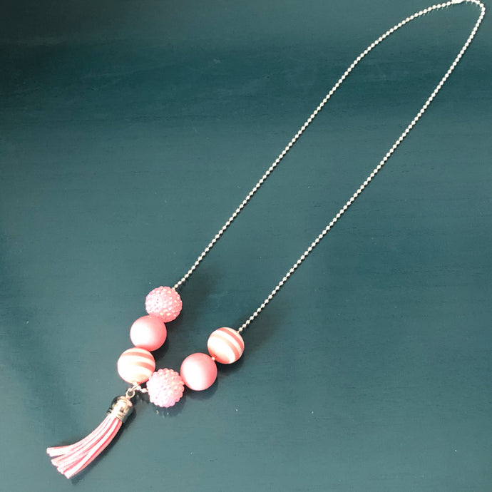 Demelza Kids' Necklace in Bubble Gum