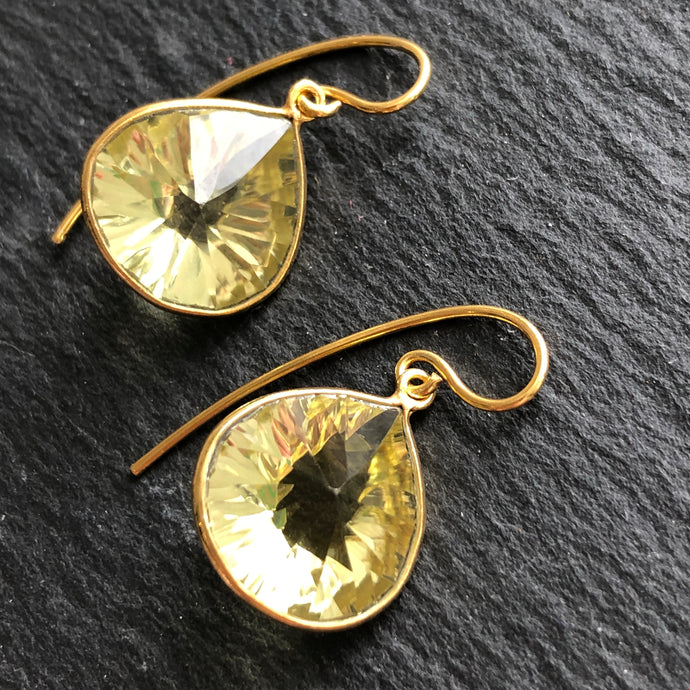 Orion Gold Plated Earrings