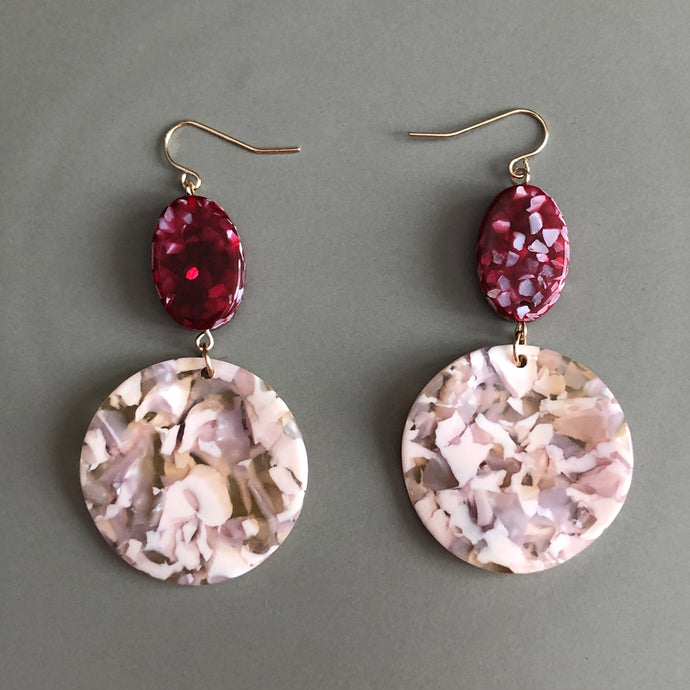 Hilarie Resin Earrings