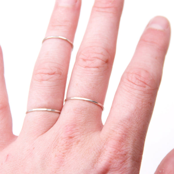 Stacking Ring Set (3), Delicate