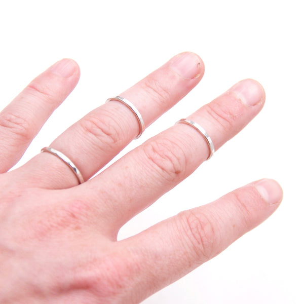 Stacking Ring Set (3), Thick