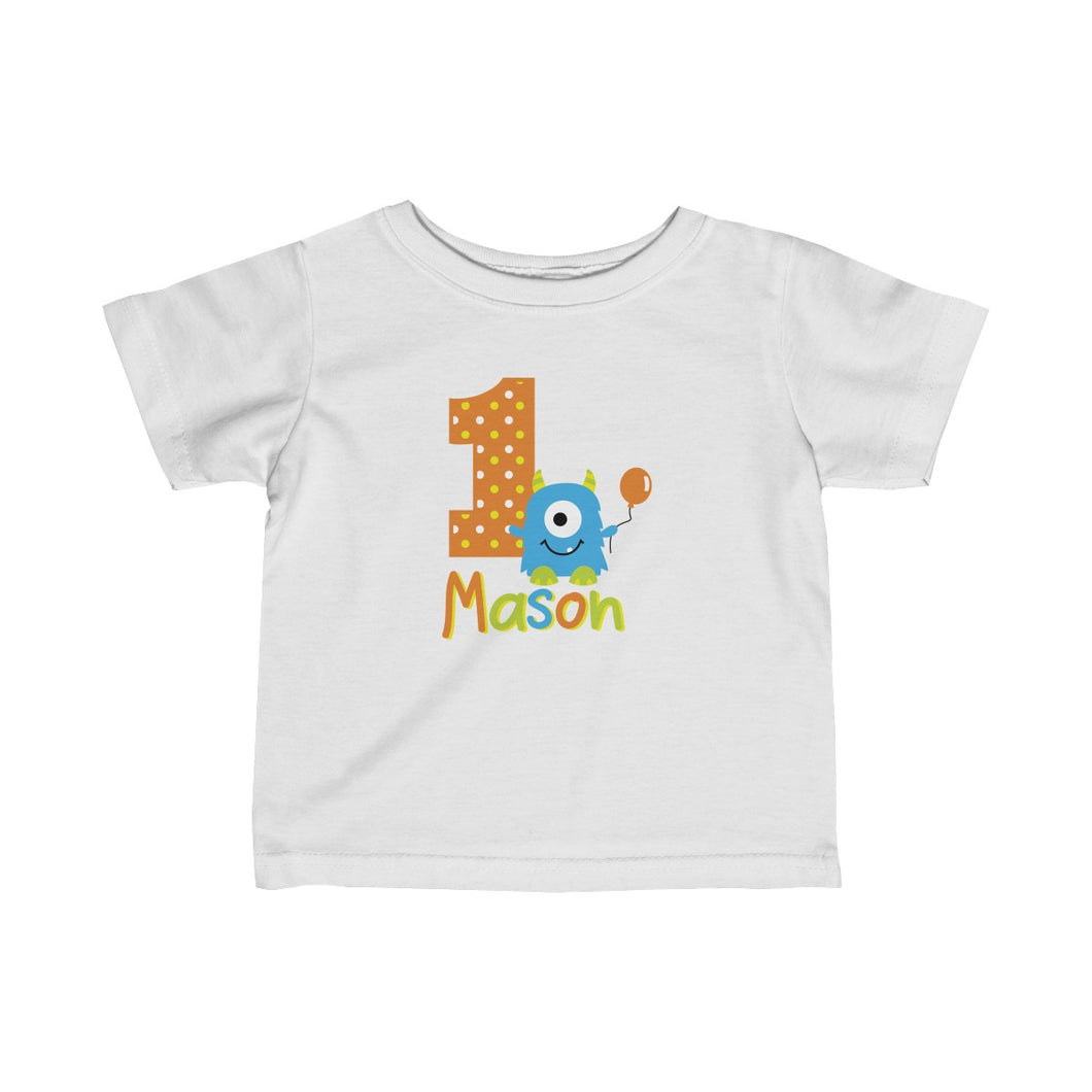 Monster 1st Birthday Tshirt