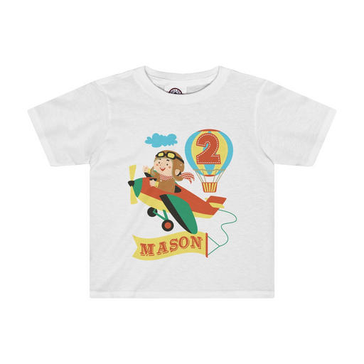 Airplane Birthday T-Shirt - The Party Stork