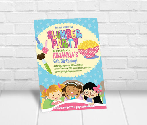 Slumber Party Invitation - The Party Stork