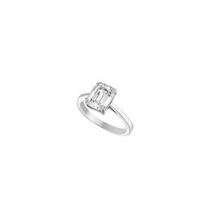 Solitaire - White Gold