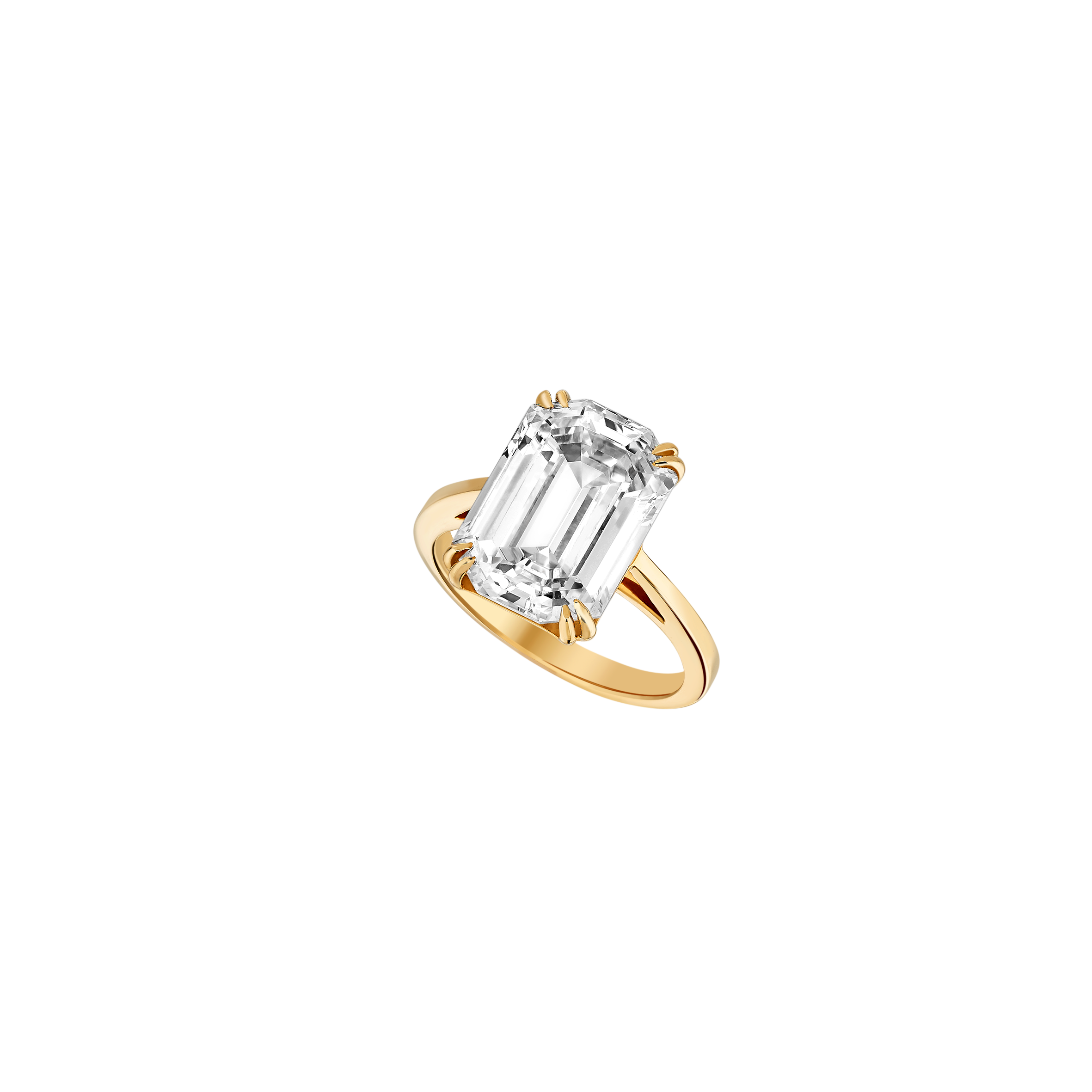 Solitaire - Yellow Gold