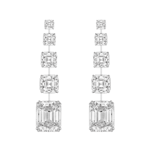 Earrings - Rhodium Silver